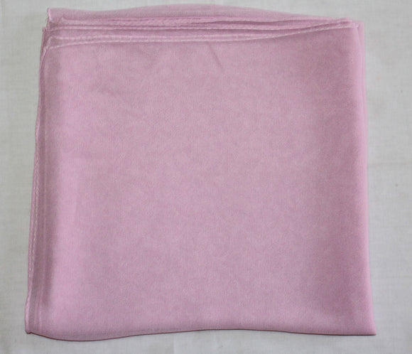 Baby Pink Solid Color Hijab Scarves Daily Wear