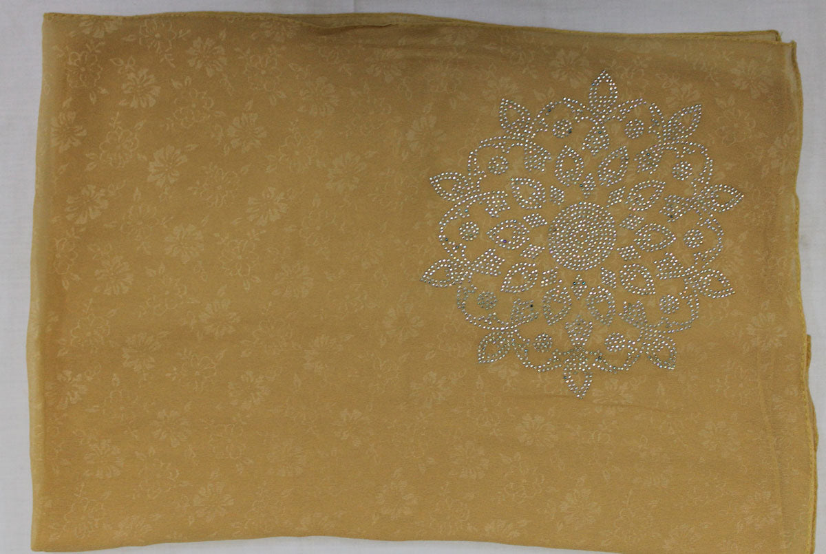 Gold Beaded Bridal Hijab