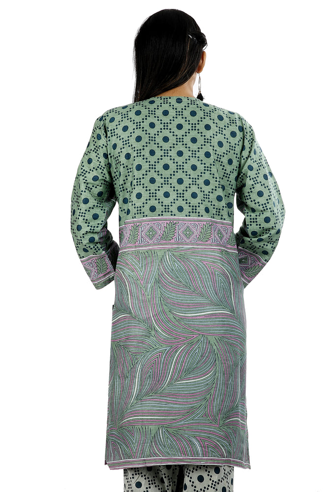 Load image into Gallery viewer, Grey Printed Soft  Cotton Salwar kameez Dress Plus Size 52