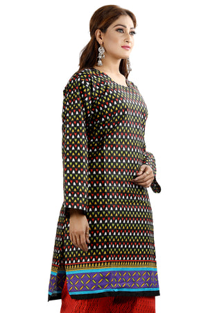Load image into Gallery viewer, Black Cotton Salwar kameez chest Pus  size 52