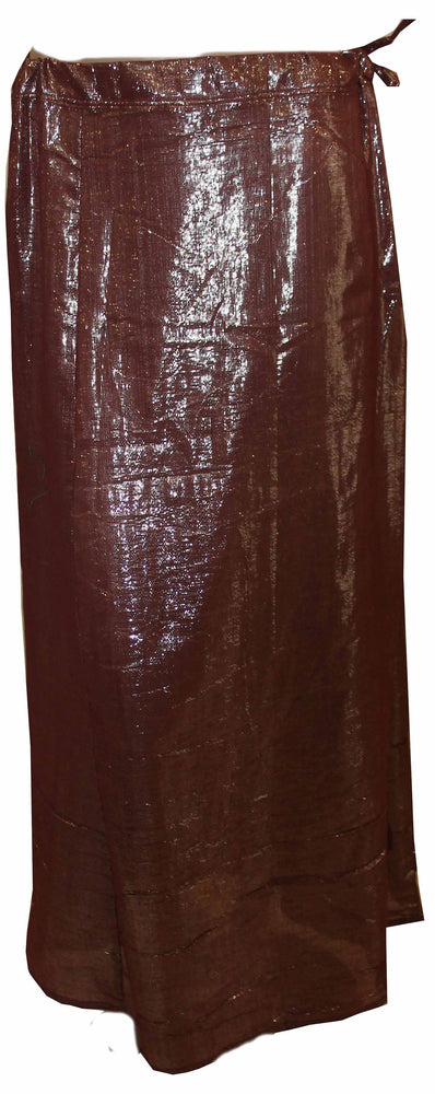 Load image into Gallery viewer, Purple shimmer Sari Petticoat New arrivals