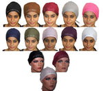 wholesale lot of 12 Hijab underscarf  caps bonnet  Hijabs Hejab islamic clothing