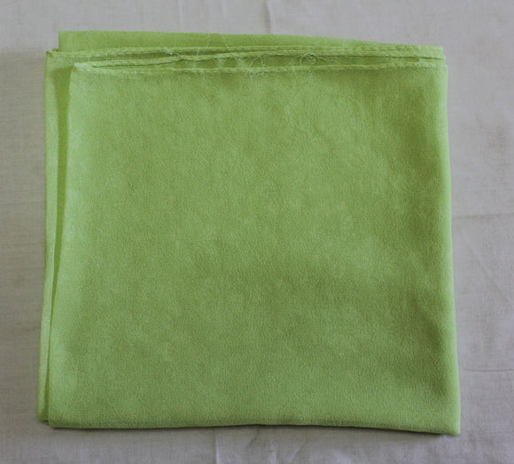 Florescent Green Solid Color Hijab Scarves Daily Wear