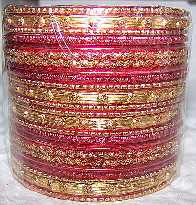 Red Indian Bangles