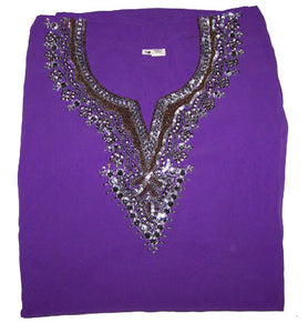 Purple Indian Kurta New