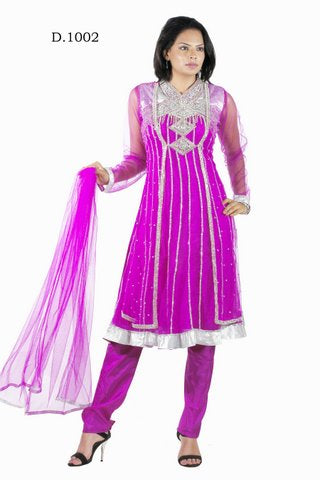 Indian Designer Net Anarkali Churidar