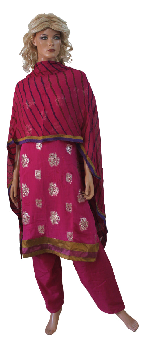Pink   Indian Wedding  Designer Salwar kameez Plus SZ 56