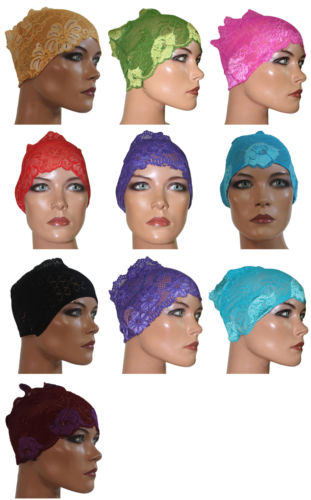 Apparelsonline One Dozen Lace Tube Headbands 12 Colors