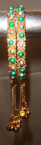 Beaded Ethnic Traditional Indian Bangles Choose Color