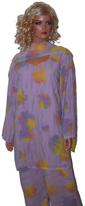 Purple Salwar Kameez