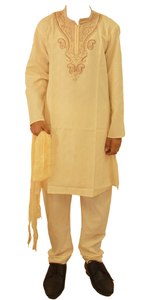 Gold  Boys Kurta Salwar sherrwani Indian Wedding Party Festival Wear