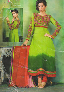 Mystic Beauty Of Shades New patterns Anarkali Churidar Plus size