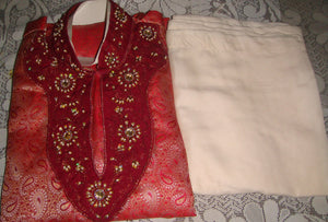 Red Boys Kurta Set New