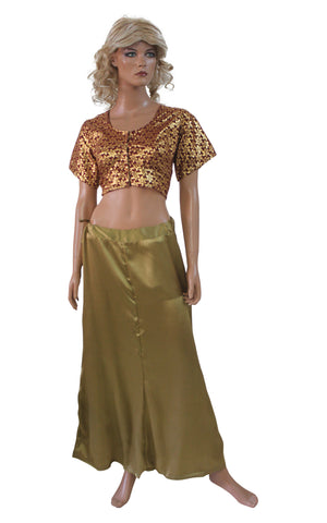Burgundy  Shinny  Bollywood Designer Saree  Indian Designer Sari Choli blouse Belly Dancing