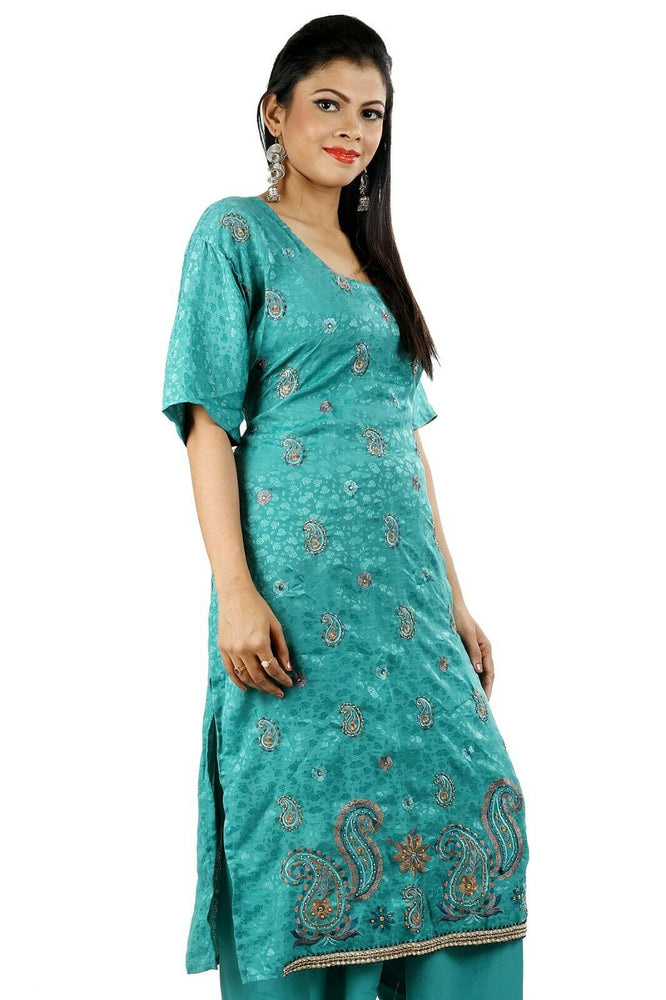 Blue Salwar Kameez for Women | Designer Partywear Dress for Women