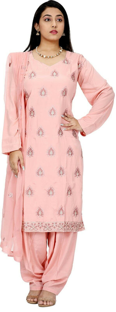 Load image into Gallery viewer, Pink Salwar Kameez for Women | Designer Partywear Dress for Women