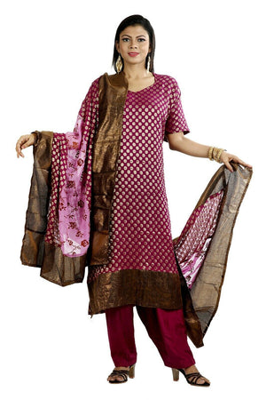 Load image into Gallery viewer, Purple Salwar Kameez for Women | Designer Partywear Dress for Women