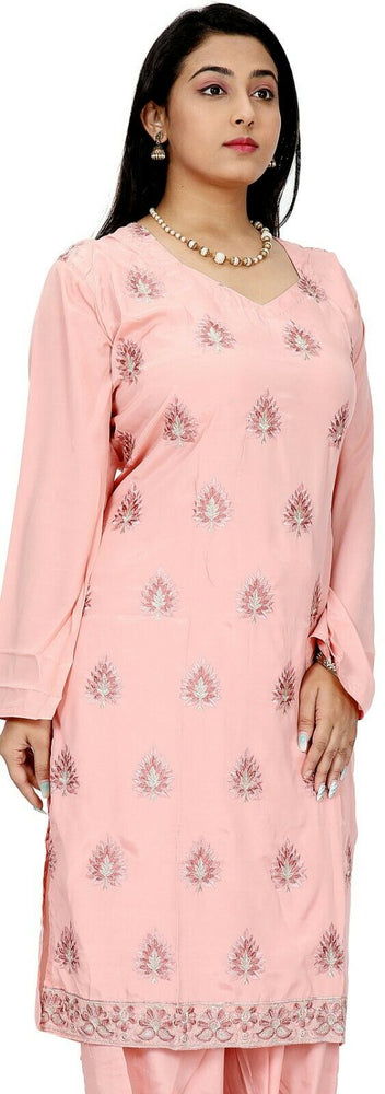 Pink Salwar Kameez for Women | Designer Partywear Dress for Women