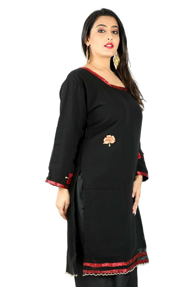 Load image into Gallery viewer, Black Salwar Kameez for Women | Designer Partywear Dress for Women