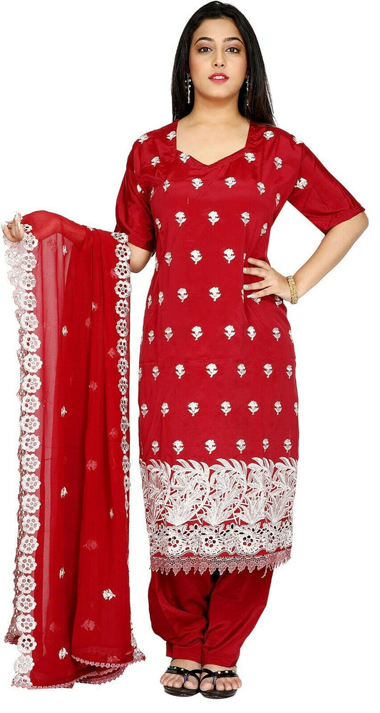 Burgundy Salwar Kameez for Women | Designer Partywear Dress for Women6