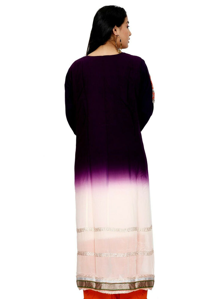 Purple Salwar Kameez for Women | Designer Partywear Dress for Women