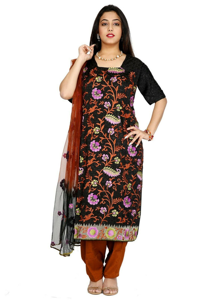 Black Salwar Kameez for Women | Designer Partywear Dress for Women