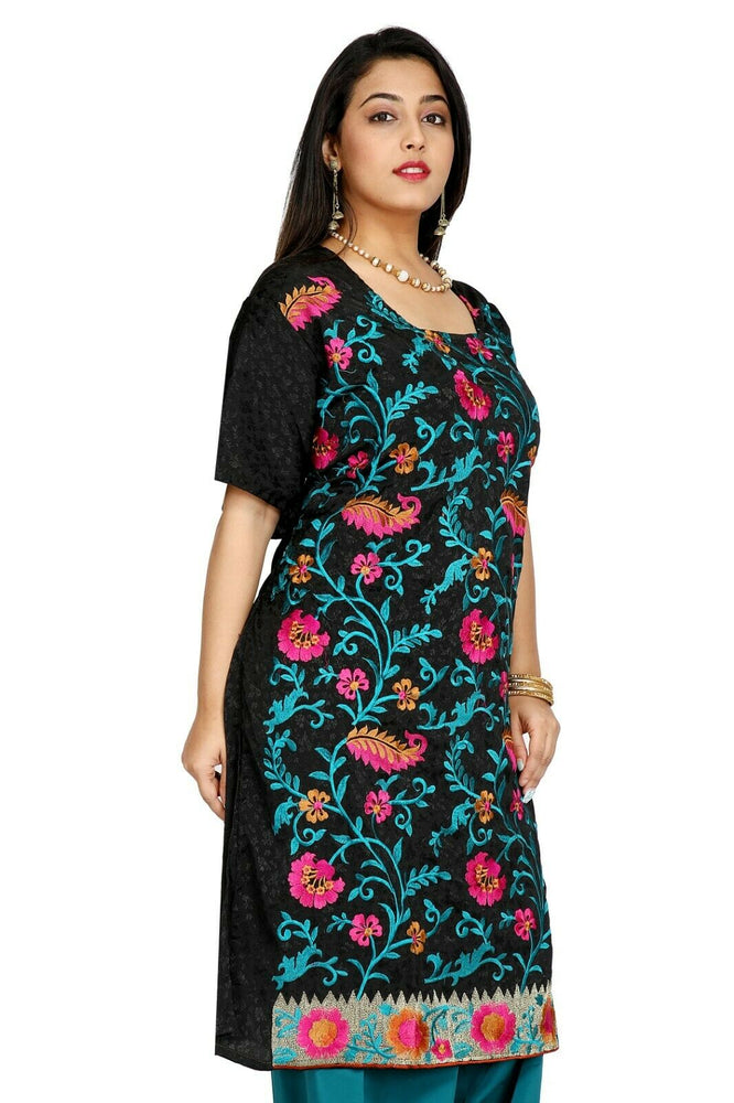 Black and Blue Salwar Kameez for Women | Designer Partywear Dress for Women