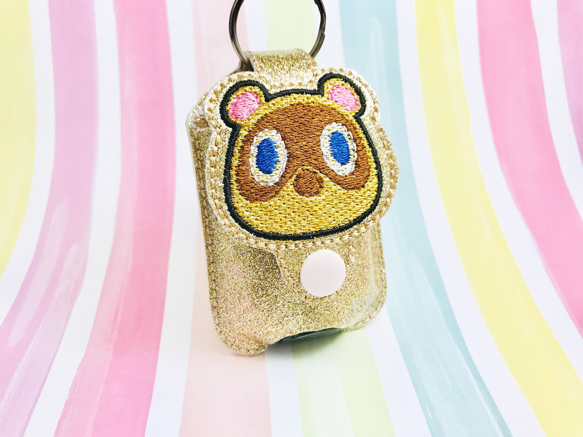 Sketchy AC1 Applique Sanitizer Holder- Read Description