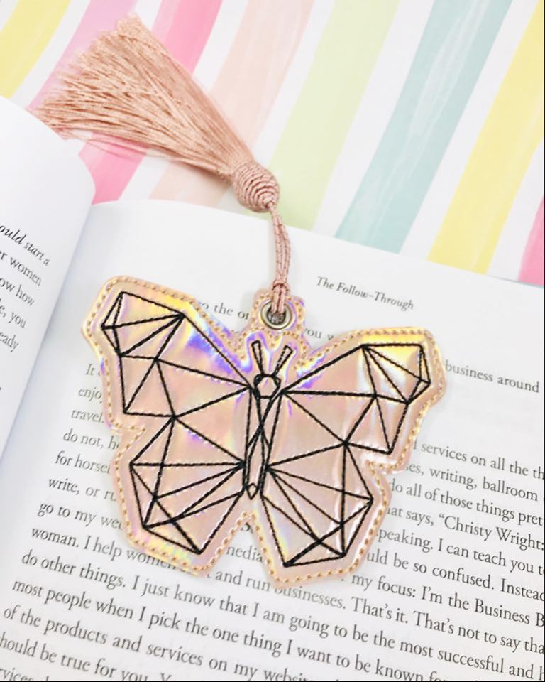 Geo Butterfly Bookmark