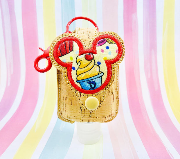 Mouse 2oz Applique Sanitizer Holder