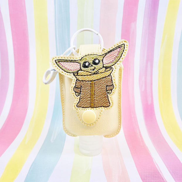 Sketchy Baby 2oz Applique Sanitizer Holder