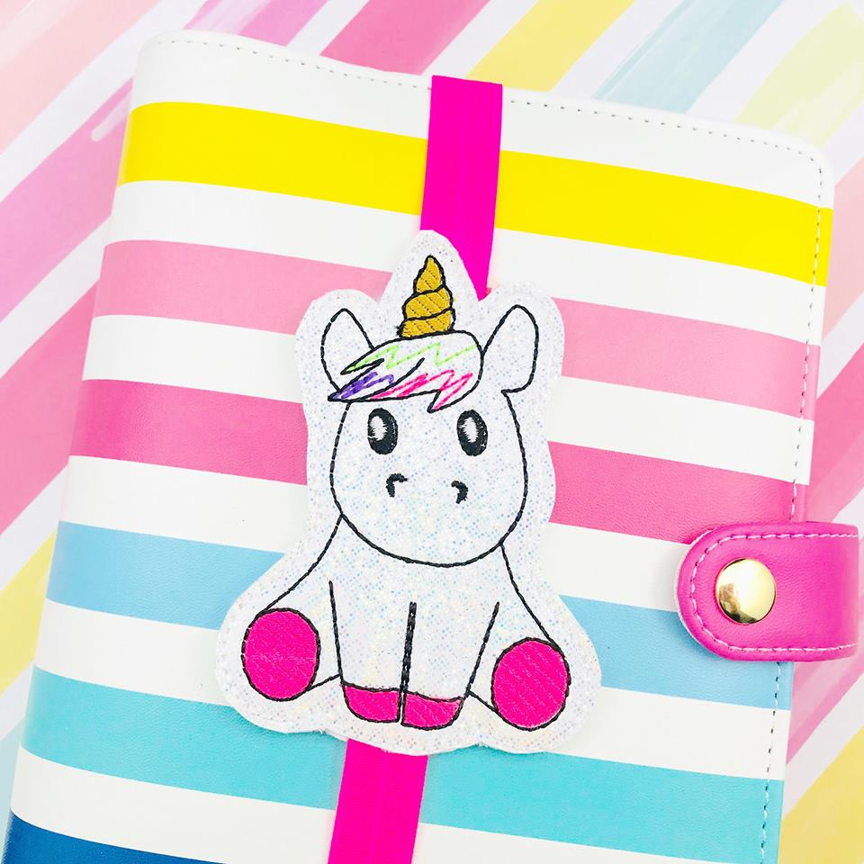 Unicorn Sitting Planner Band