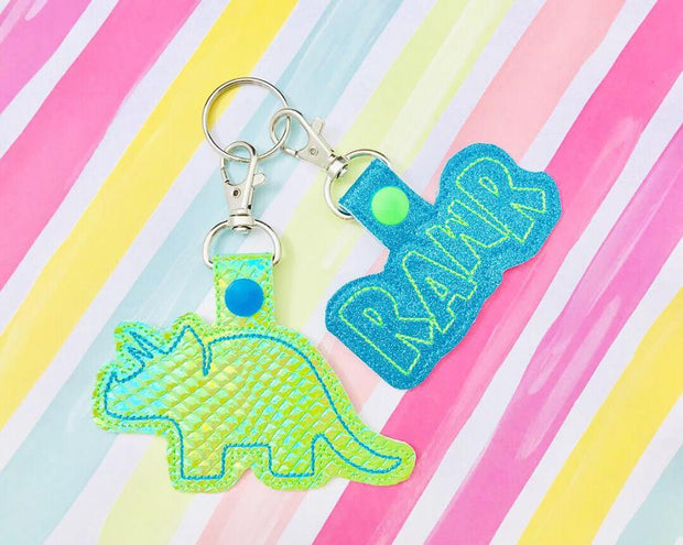 Dinosaur Snap Tab Set