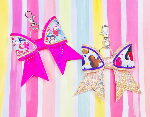 3-D Applique Bow- 5x7 Hoop or Larger