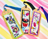 Bookmark Applique- 5x7 or larger hoop