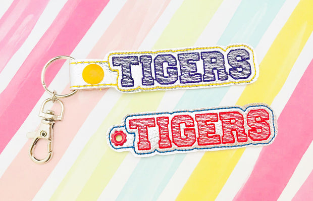 Tigers Snap Tab and Eyelet Set- Read Description