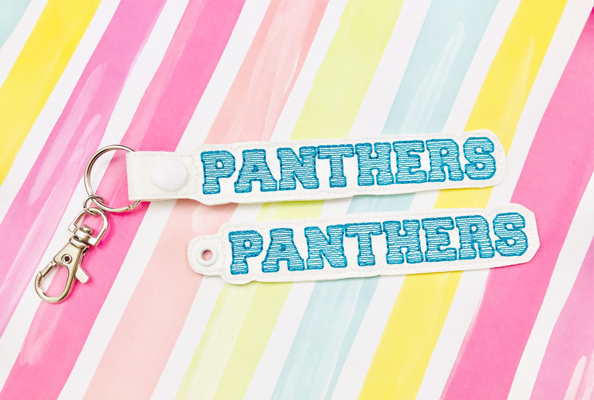 Panthers Snap Tab and Eyelet Set- Read Description