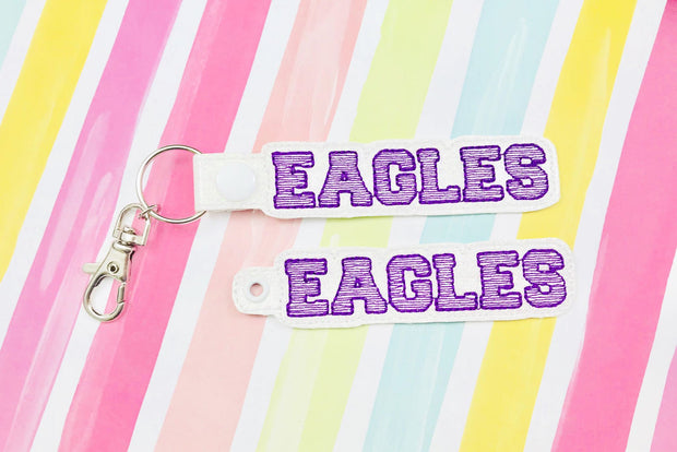 Eagles Snap Tab and Eyelet Set- Read Description