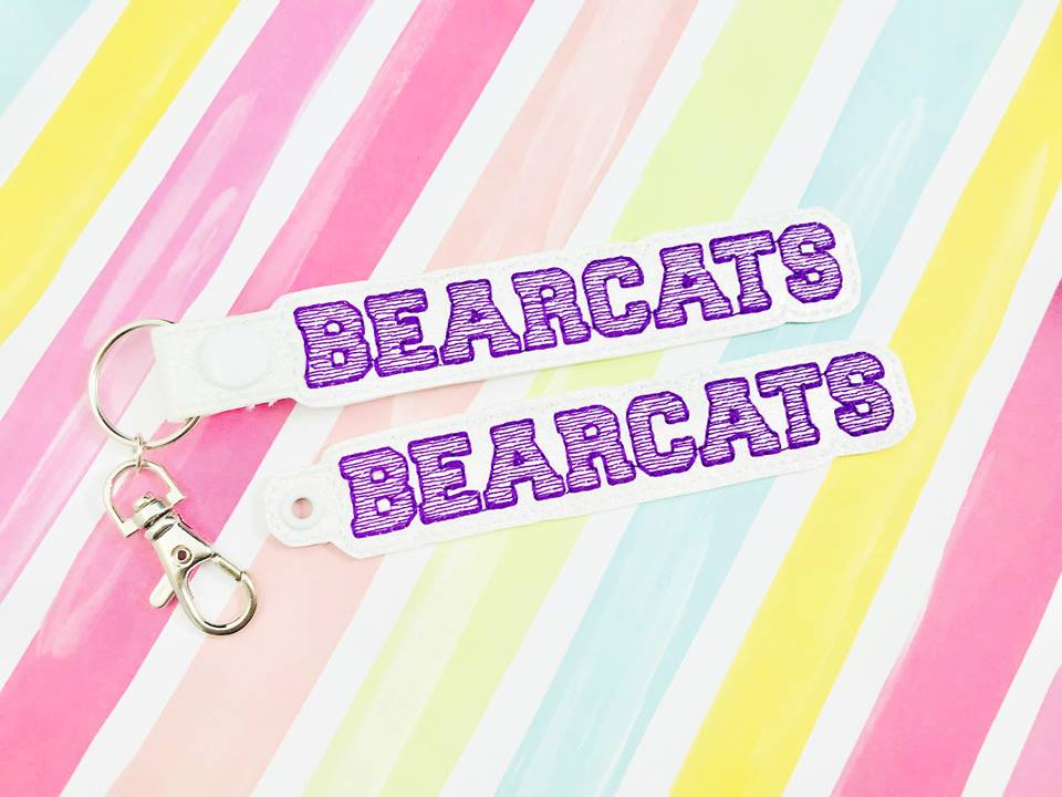 Bearcats Snap Tab and Eyelet Set- Read Description