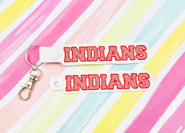Indians Snap Tab and Eyelet Set- Read Description