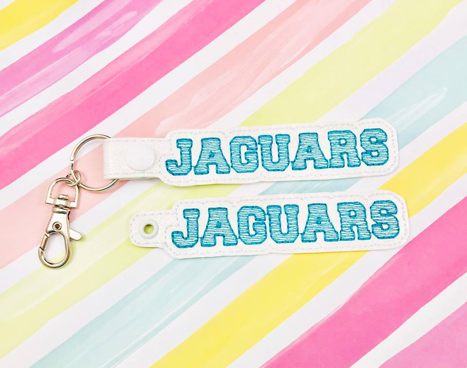 Jaguars Snap Tab and Eyelet Set- Read Description