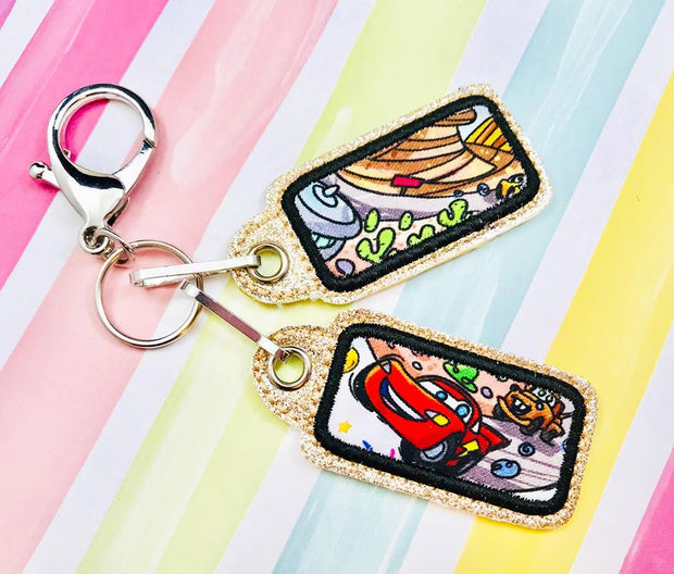 Rounded Rectangle Zipper Pulls