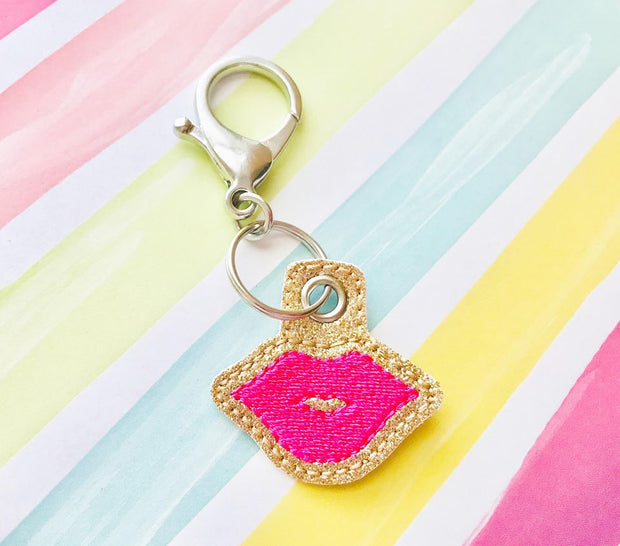 Lips Zipper Pulls