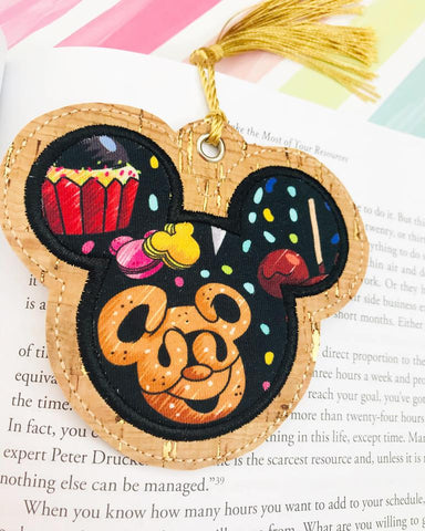 Mouse Applique Bookmark Ornament