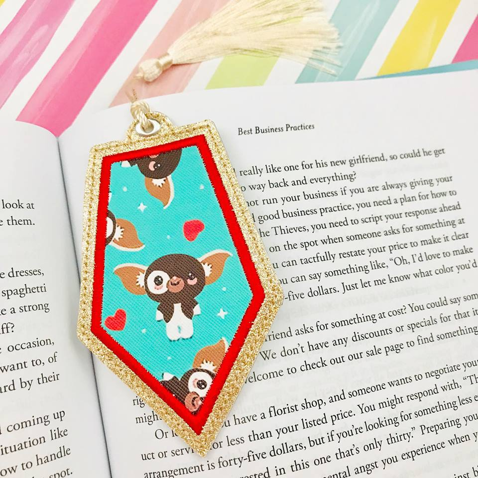 Bookmark Applique 8