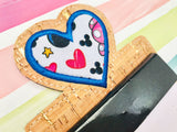 Heart Applique Note Pad Holder- 5x7 or larger hoops