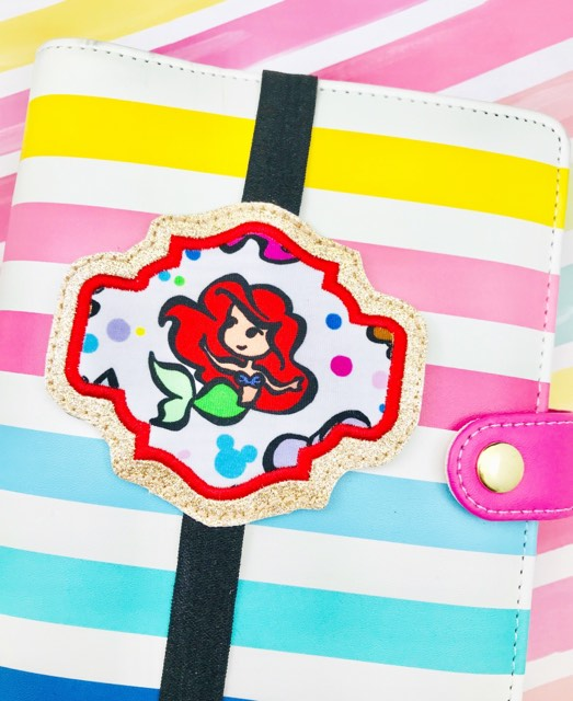 Abstract 3 Applique Planner Band