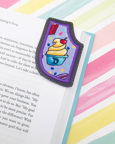Corner Applique Bookmark