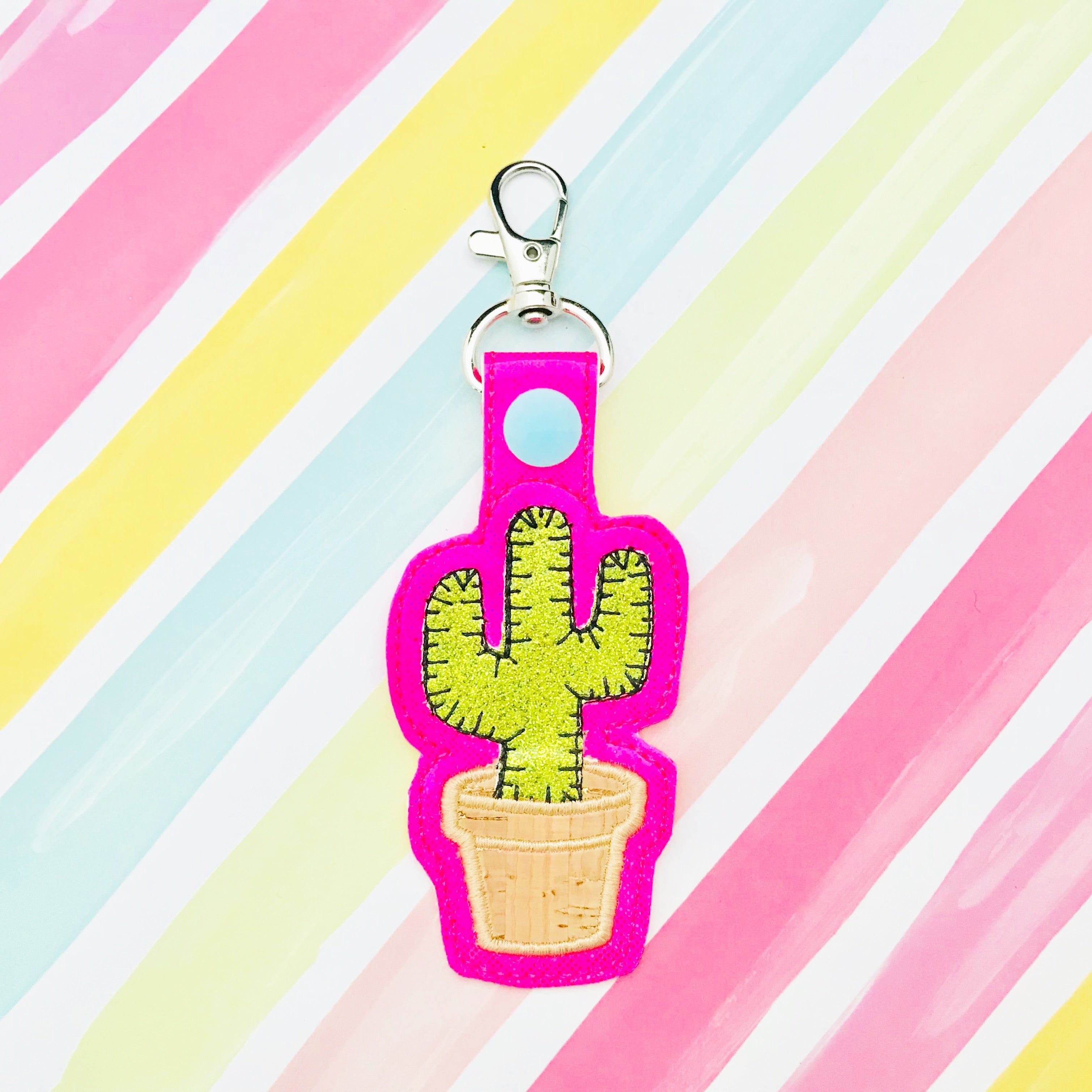 Potted Cactus Snap Tab