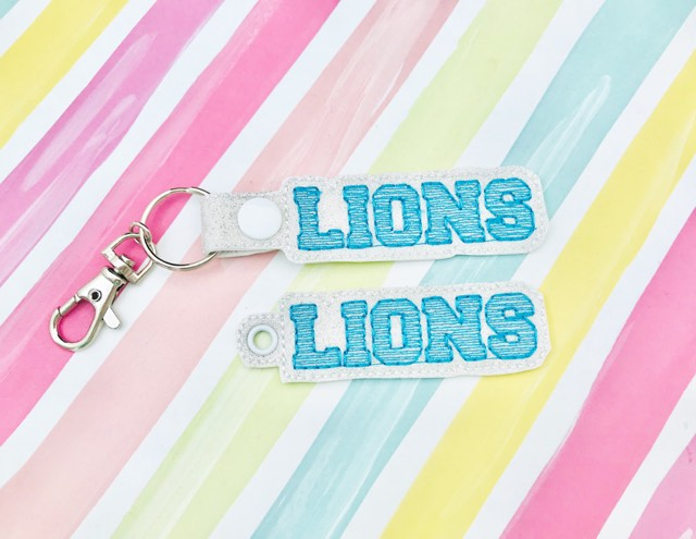 Lions Snap Tab and Eyelet Set- Read Description
